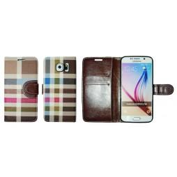 Samsung Galaxy S6 - Preklopna torbica (TKP) - rjava