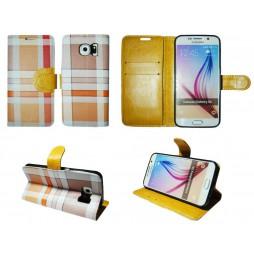 Samsung Galaxy S6 - Preklopna torbica (TKP) - rumena