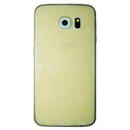 Samsung Galaxy S6 - Gumiran ovitek (21A) - zlat