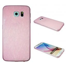 Samsung Galaxy S6 - Gumiran ovitek (21B) - roza