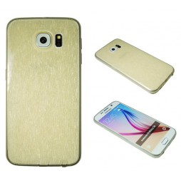 Samsung Galaxy S6 - Gumiran ovitek (21B) - zlat
