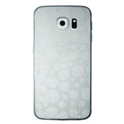 Samsung Galaxy S6 - Gumiran ovitek (21krogci) - siv