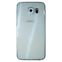 Samsung Galaxy S6 - Gumiran ovitek (22) - siv