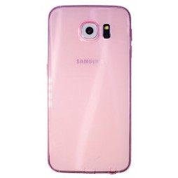 Samsung Galaxy S6 - Gumiran ovitek (22) - roza