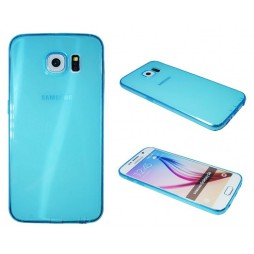 Samsung Galaxy S6 - Gumiran ovitek (22) - moder