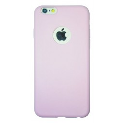 Apple iPhone 6Plus/6SPlus - Gumiran ovitek (23) - svetlo roza