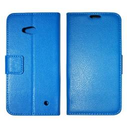 Microsoft Lumia 640 LTE - Preklopna torbica (WLG) - modra