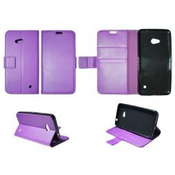 Microsoft Lumia 640 LTE - Preklopna torbica (WLG) - vijolična