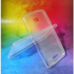 Sony Xperia E4g - Gumiran ovitek (TPUA) - prosojen