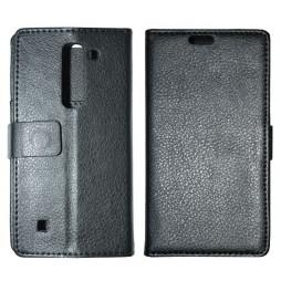 LG Spirit 4G LTE - Preklopna torbica (WL) - črna