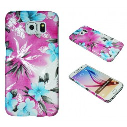 Samsung Galaxy S6 - Okrasni pokrovček (64P) - roza
