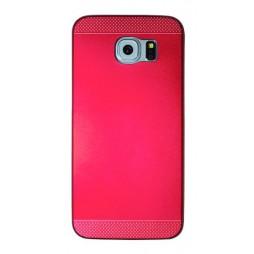 Samsung Galaxy S6 - Okrasni pokrovček (75A) - rdeč