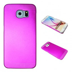 Samsung Galaxy S6 - Okrasni pokrovček (75A) - temno roza
