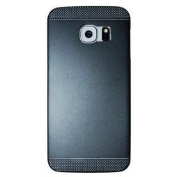 Samsung Galaxy S6 Edge - Okrasni pokrovček (75A) - črn