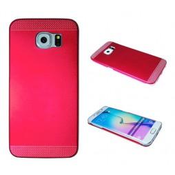 Samsung Galaxy S6 Edge - Okrasni pokrovček (75A) - rdeč