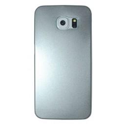 Samsung Galaxy S6 Edge - Okrasni pokrovček (75A) - srebrn