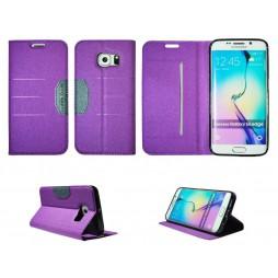 Samsung Galaxy S6 Edge - Preklopna torbica (47G) - vijolična