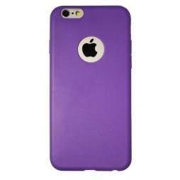 Apple iPhone 6/6S - Gumiran ovitek (23) - vijoličen