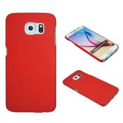 Samsung Galaxy S6 - Okrasni pokrovček (06) - rdeč