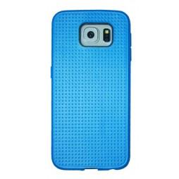 Samsung Galaxy S6 - Gumiran ovitek (08) - temno moder