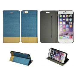 Apple iPhone 6/6S - Preklopna torbica (67G) - svetlo modra