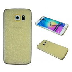 Samsung Galaxy S6 Edge - Gumiran ovitek (21A) - zlat