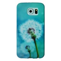 Samsung Galaxy S6 - Gumiran ovitek (TPUP) - Dandelon