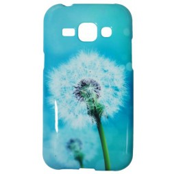 Samsung Galaxy J1 - Gumiran ovitek (TPUP) - Dandelon