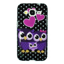 Samsung Galaxy Core Prime - Gumiran ovitek (TPUP) - Owls in love