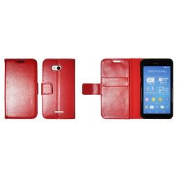 Sony Xperia E4g - Preklopna torbica (WLG) - rdeča