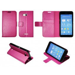 Sony Xperia E4g - Preklopna torbica (WLG) - roza