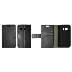 Samsung Galaxy Young 2 - Preklopna torbica (WL) - črna