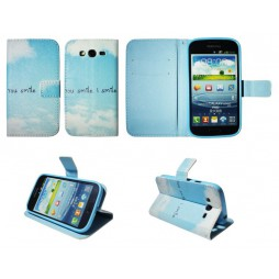Samsung Galaxy Grand/Grand Neo - Preklopna torbica (WLGP) - Smile