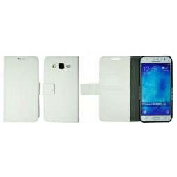 Samsung Galaxy J5 - Preklopna torbica (WLG) - bela