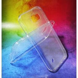 Samsung Galaxy S6 Active - Gumiran ovitek (TPUA) - prosojen
