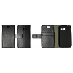 Samsung Galaxy Pocket 2 - Preklopna torbica (WL) - črna