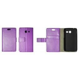 Samsung Galaxy Pocket 2 - Preklopna torbica (WL) - vijolična