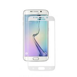 Samsung Galaxy S6 Edge - Zaščitno steklo Excellence (0,33) - belo