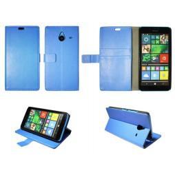 Microsoft Lumia 640 XL - Preklopna torbica (WL) - modra