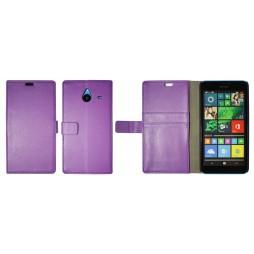 Microsoft Lumia 640 XL - Preklopna torbica (WL) - vijolična
