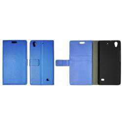 Huawei Ascend G620s - Preklopna torbica (WL) - modra