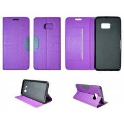 Samsung Galaxy S6 Edge Plus - Preklopna torbica (47G) - vijolična