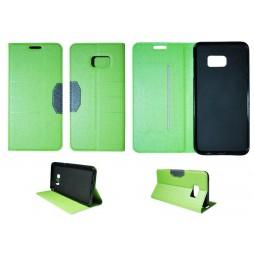 Samsung Galaxy S6 Edge Plus - Preklopna torbica (47G) - zelena