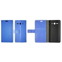 Huawei Ascend Y530 - Preklopna torbica (WL) - modra