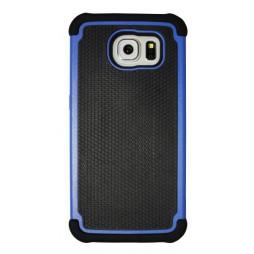 Samsung Galaxy S6 - Gumiran ovitek (25) - moder