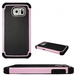 Samsung Galaxy S6 - Gumiran ovitek (25) - roza