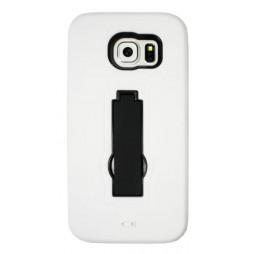 Samsung Galaxy S6 - Gumiran ovitek (26) - bel