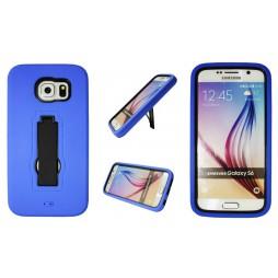 Samsung Galaxy S6 - Gumiran ovitek (26) - moder