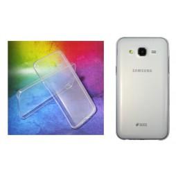 Samsung Galaxy J5 - Gumiran ovitek (TPUA) - prosojen