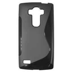 LG G4s Beat - Gumiran ovitek (TPU) - črn SLine